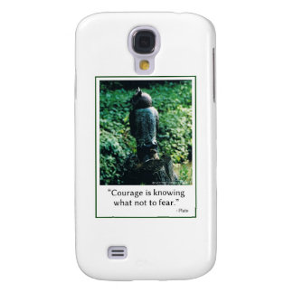 Courage in Everything Galaxy S4 Case