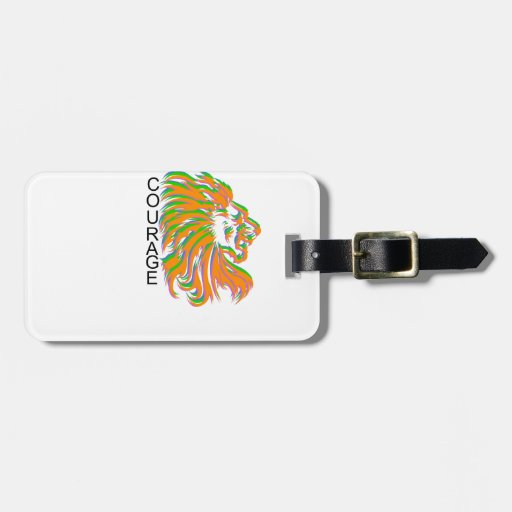 Courage Travel Bag Tags