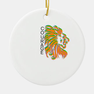 Courage Ornament