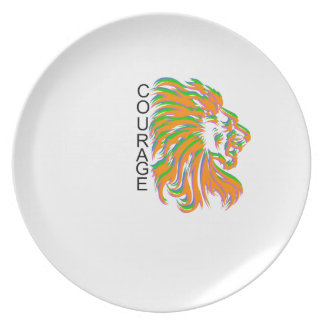 Courage Dinner Plate