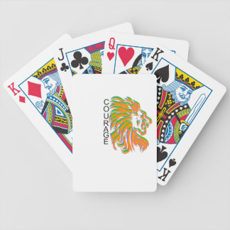 Courage Bicycle Poker Cards