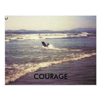 COURAGE POSTCARD