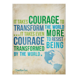 Courage. Poster
