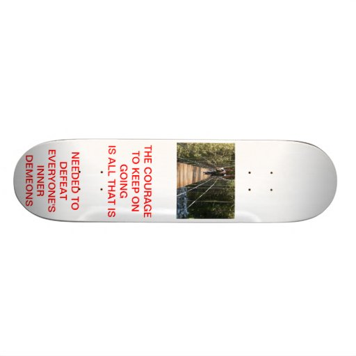 COURAGE SKATE BOARDS