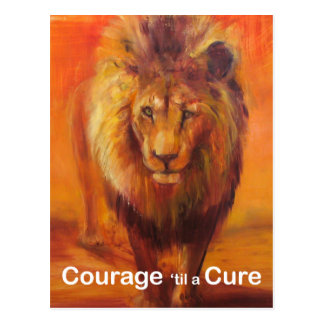 Courage 'til a Cure Post Card