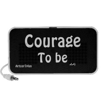 Courage To Be Doodle Speakers