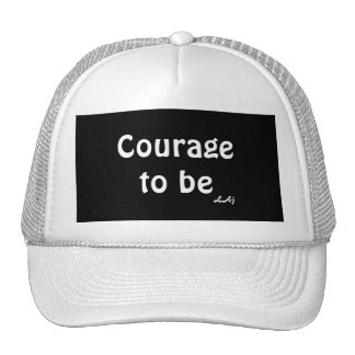 Courage To Be White on Black Hat