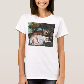 Courbet Ladies on the Banks of the Seine T-Shirt