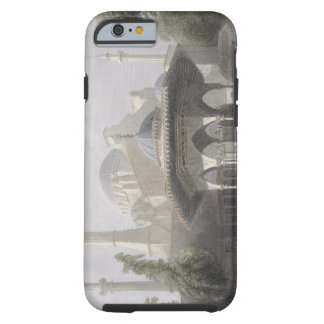 Court and Fountain of St. Sophia, Istanbul, engrav Tough iPhone 6 Case