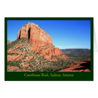 Courthouse Rock & Sedona Valley Greeting Card