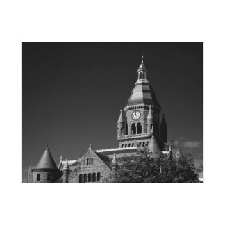 Courthouse Stretched Canvas Prints