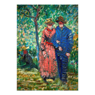 Courting Couple by Vincent Van Gogh Photographic Print