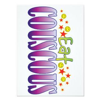 Couscous Eat 14 Cm X 19 Cm Invitation Card