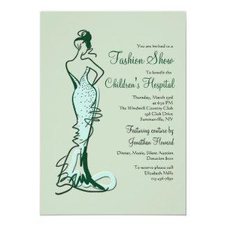 Couture Fashion Show Invitation