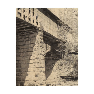 Covered Bridge Wood Canvases