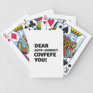 Covfefe Tshirts Bicycle Playing Cards