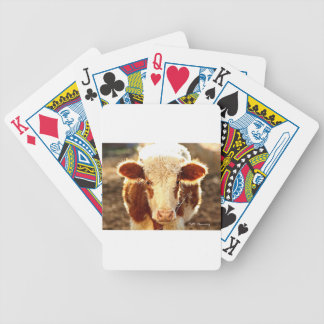 Cow Bicycle Playing Cards