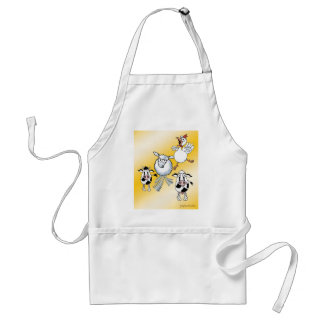 Cow, Bull, Sheep and Chicken BBQ Apron. Standard Apron