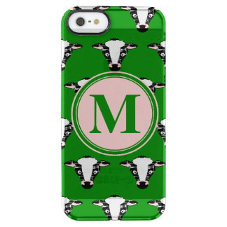 Cow Face Pattern with Customisable Monogram
