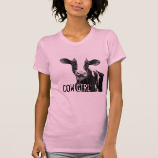 Cow Girl Cowgirl!  Holstein Dairy Calf T-Shirt