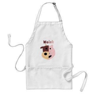 Cow + Pig = Moink apron