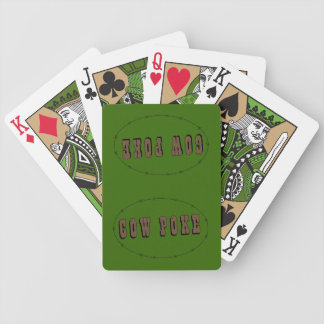 Cow Poke - Ranch or Farm Bicycle Playing Cards