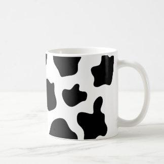 Cow print coffee mug Personalizable