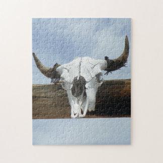 Cow Skull Puzzle