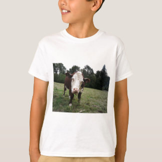 Cow Sticking Out Tongue T-Shirt