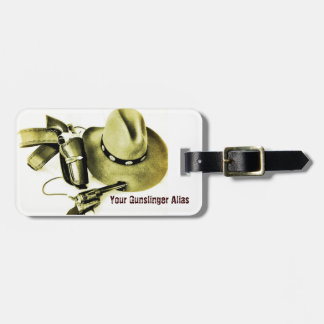 Cowboy Action Shooting Gun Cart ID Tag
