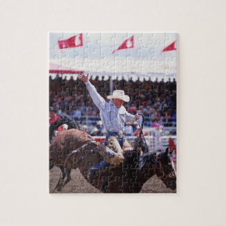 Cowboy at a Rodeo Jigsaw Puzzle