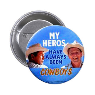 Cowboy Clowns - Button