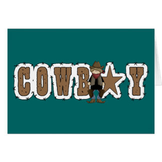 Cowboy Congrats - Western New Job or Promotion Card