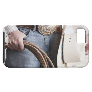 Cowboy holding a rope 2 iPhone 5 covers