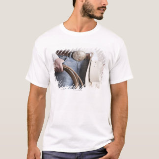 Cowboy holding a rope 2 T-Shirt