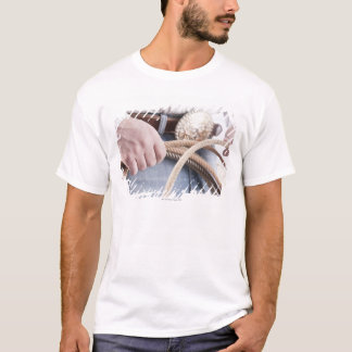 Cowboy holding a rope T-Shirt