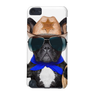 cowboy pug - dog cowboy iPod touch (5th generation) cases