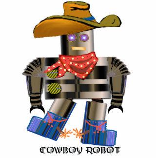 Cowboy Robot Photo Sculpture