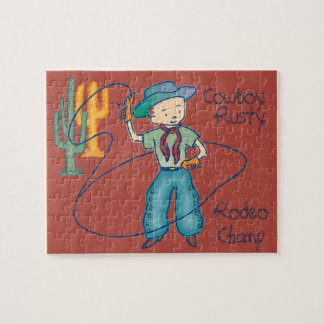 Cowboy Rusty Rodeo Champ Puzzles