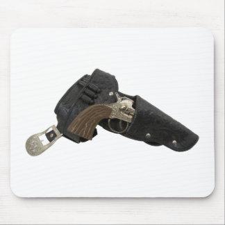 CowboyBeltGun090309 Mouse Pad
