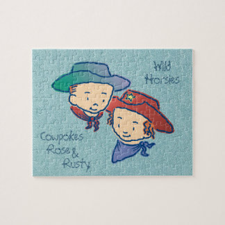 Cowpokes Rose & Rusty Jigsaw Puzzle