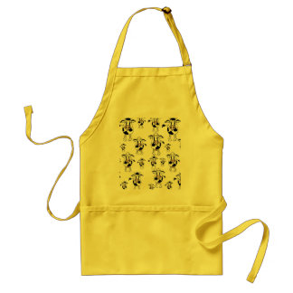 Cows and bulls pattern standard apron