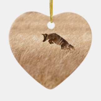 Coyote Christmas Ornament