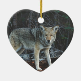 Coyote Hunting Christmas Ornament