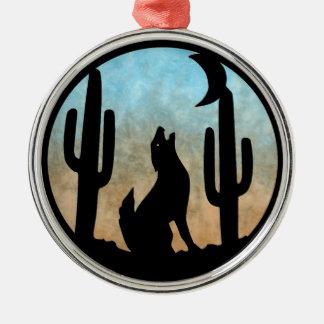 Coyote Moon Christmas Ornament