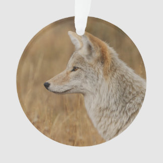 Coyote Portrait Ornament