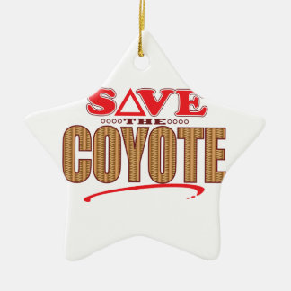Coyote Save Christmas Ornament