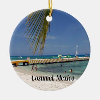 Cozumel Mexico Christmas Ornament
