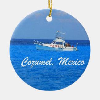 Cozumel, Mexico Christmas Ornament