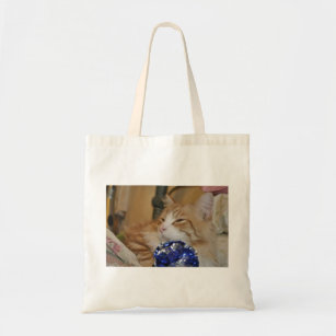 Cozzy Kitty Tote Bag